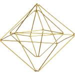 Modern Remodelaholic Xmas Gold Box Ornament 1