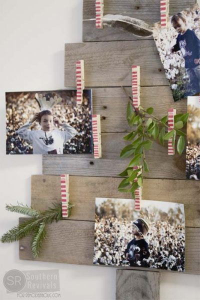 Remodelaholic DIY Pallet Wood Christmas Tree Photo