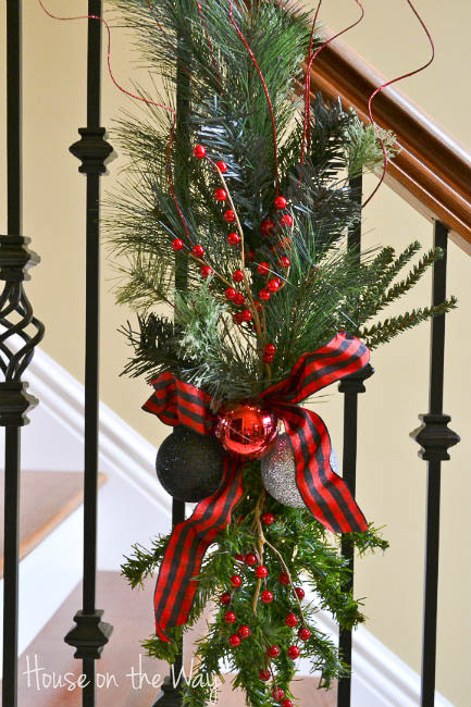 Christmas Tree Swag