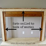 Remodelaholic How To Build A Faux Fireplace