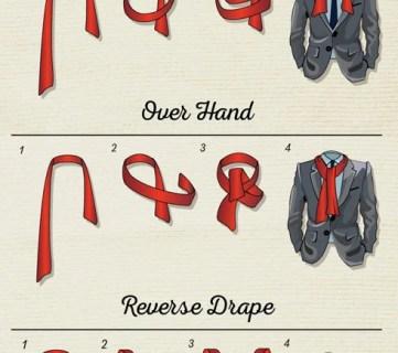 7 Best Ways to Tie a Men's Scarf