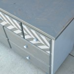 7 drawer dresser-corner view