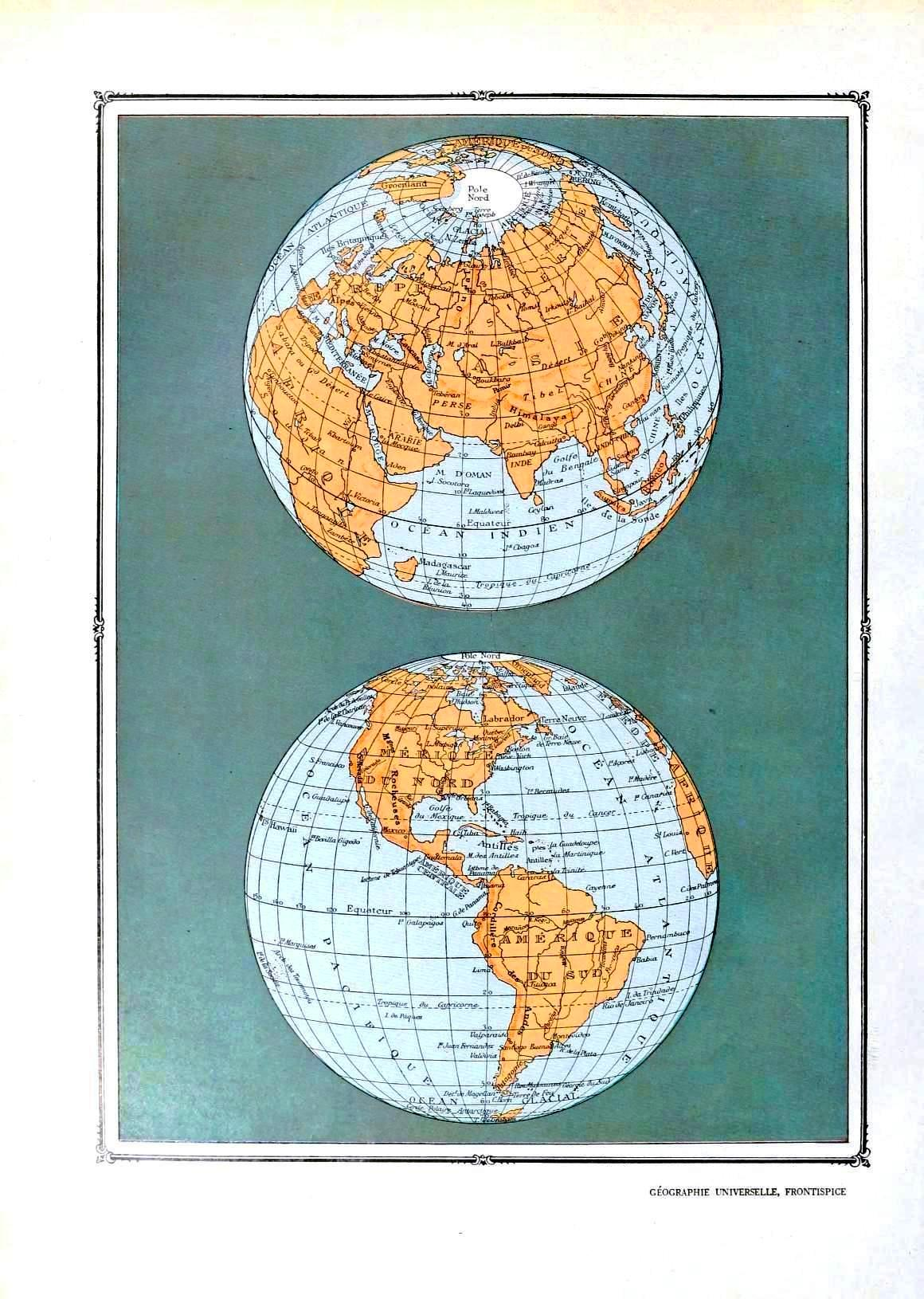 image regarding Printable Map of the World referred to as Remodelaholic 20 Free of charge Common Map Printable Illustrations or photos