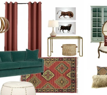 Decorating with Marsala, the Pantone Color of the Year
