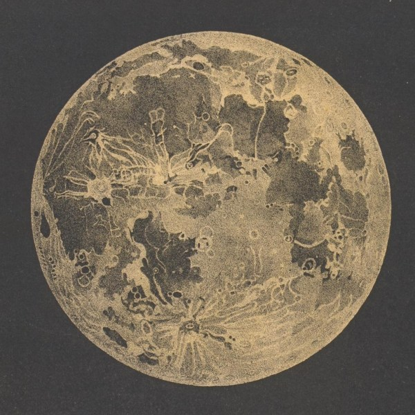 Vintage Moon Artwork