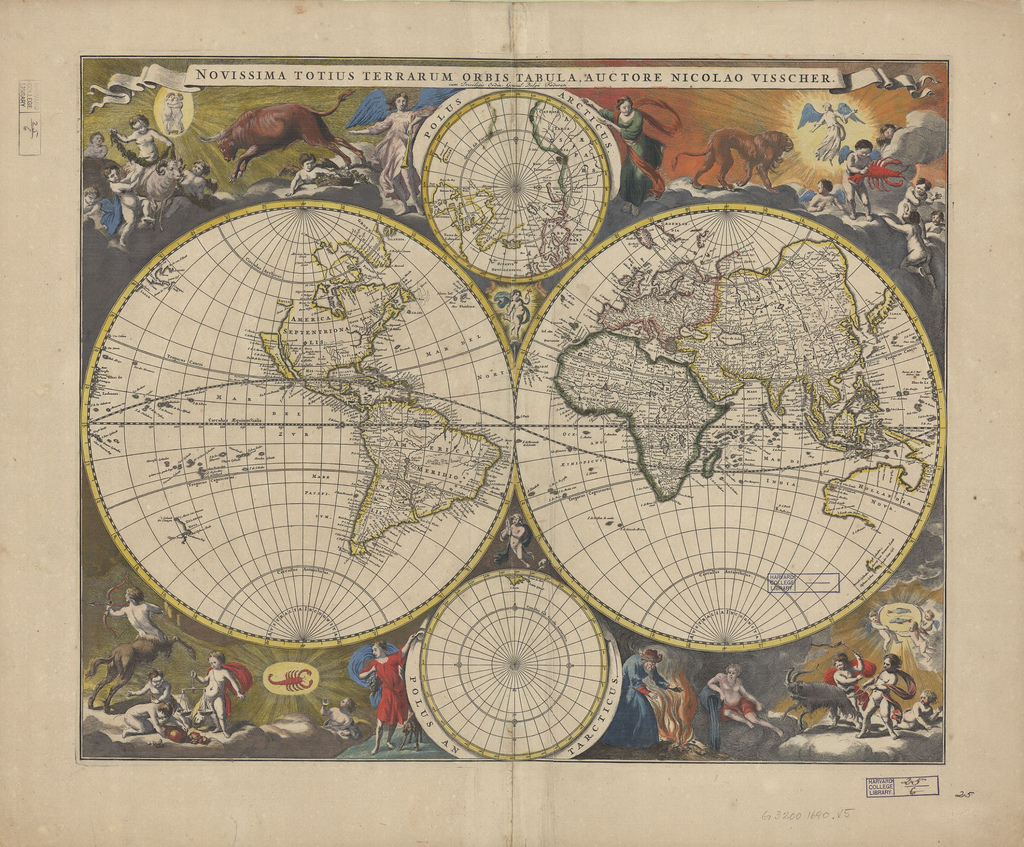 graphic relating to Vintage Map Printable known as Remodelaholic 20 No cost Common Map Printable Pictures