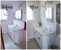 Remodelaholic | DIY Bathroom Remodel on a Budget (and ...