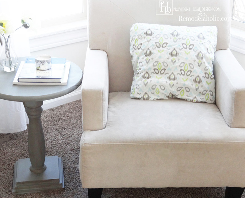 DIY Pedestal Accent Table Tutorial