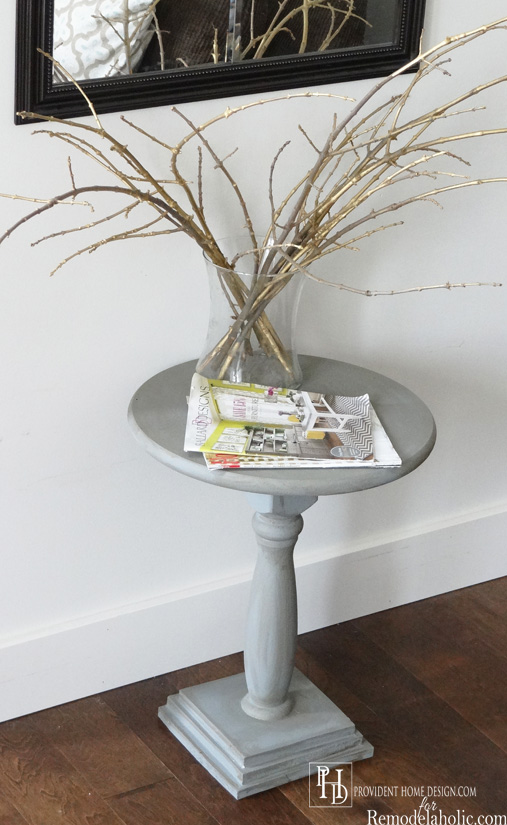 How to make a Pedestal Accent Table