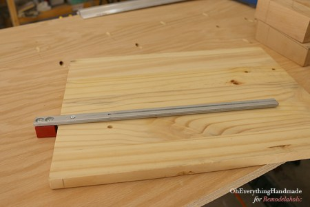 Ikea Karlstad Tapered leg - building a cutting table