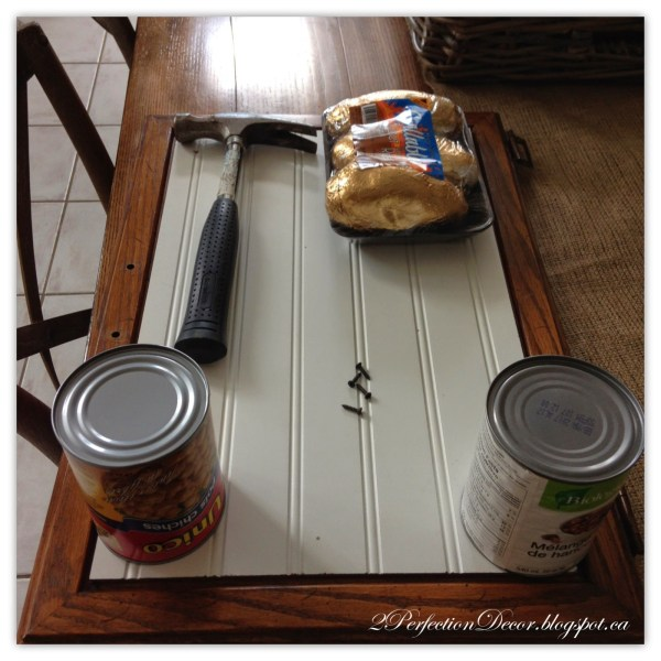 Kitchen island with beadboard tutorial by 2Perfection Decor featured on @Remodelaholic