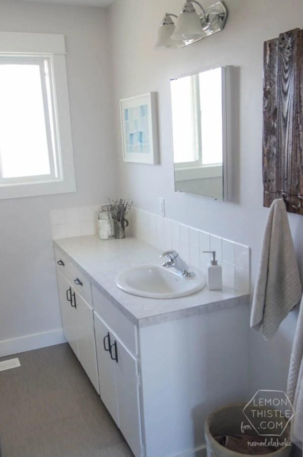DIY Bathroom Remodel On Budget