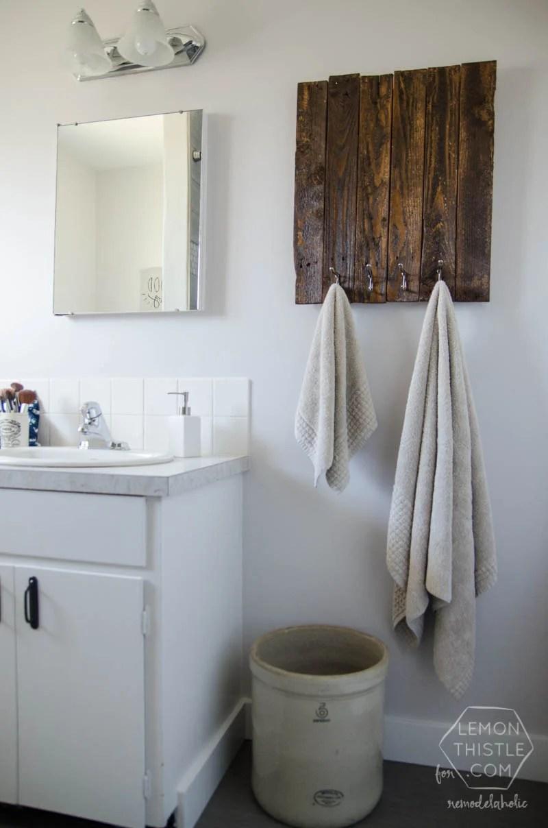 redo bathroom on a budget