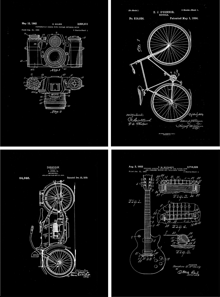 Remodelaholic | 20+ Free Vintage Printable Blueprints and Diagrams