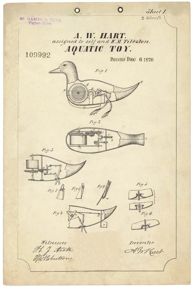 Remodelaholic  20 Free Vintage Printable Blueprints and