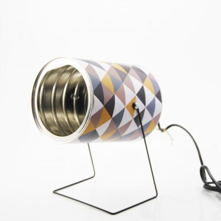 recycled tin can lamp 15