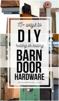Sliding Barn Doors: Make Your Own Sliding Barn Door Hardware