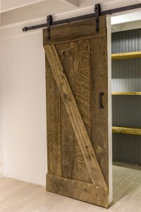 Remodelaholic | 35 DIY Barn Doors + Rolling Door Hardware ...