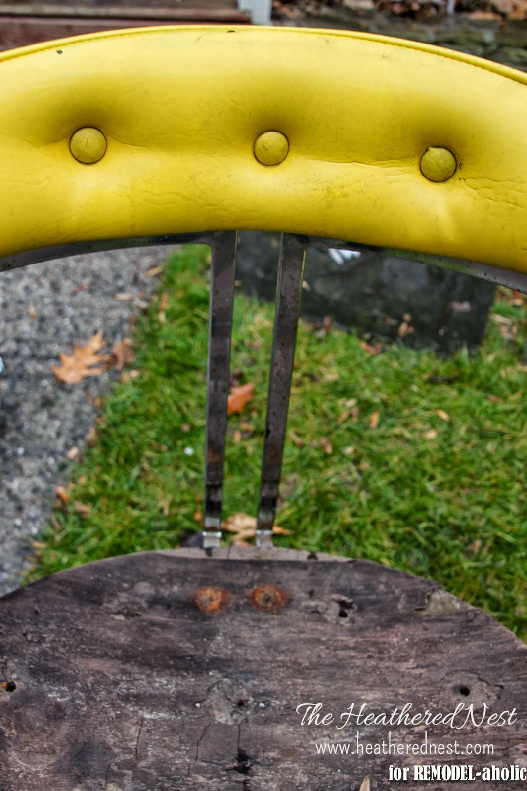 Remodelaholic how to restore rusty chrome repair and refinish a rusty chrome chair by the heathered nest featured on remodelaholic watchthetrailerfo