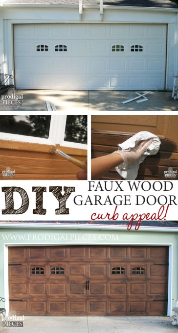 diy-faux-wood-garage-door