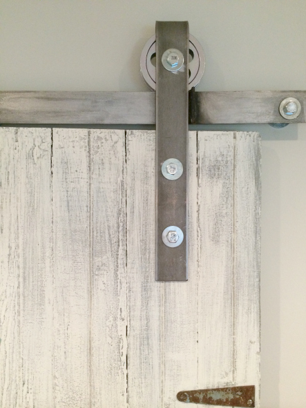 Diy Rolling Barn Door Hardware   Sweet Maple Blog