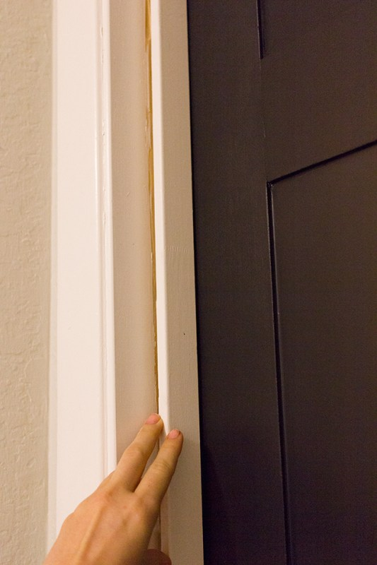 Add Style to an Old Door by Jenna Sue Design Co featured on @Remodelaholic