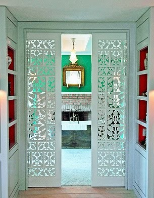 Remodelaholic 50 beautiful doors front door paint colors beautiful doors ornate pocket doors via my design chic planetlyrics Image collections