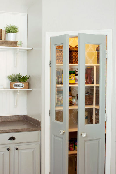 Beautiful Doors - pantry french doors with glass outswing This Old House