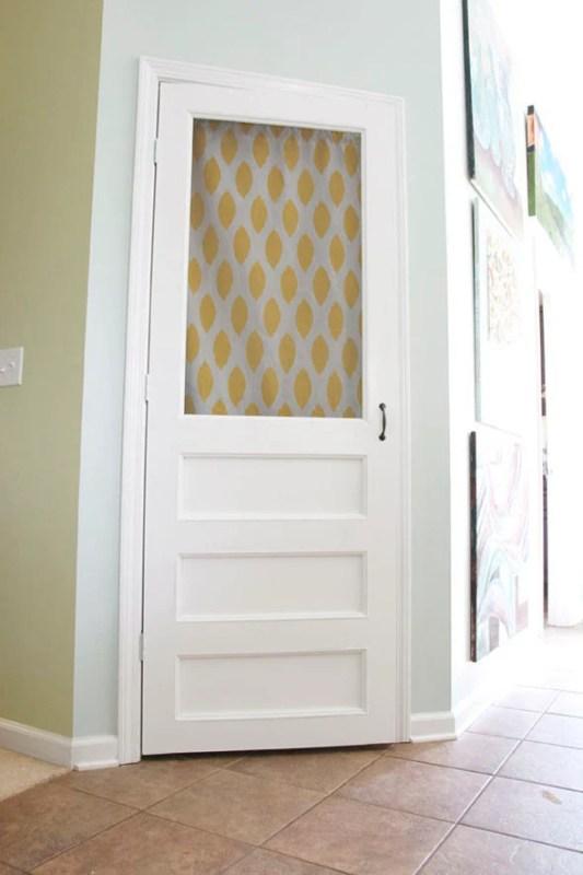 Beautiful Doors - pantry screen door DIY
