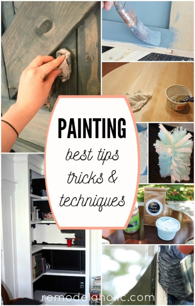 Best Painting Tips, Tricks, and Techniques - I wish I had known all of these before my last painting project