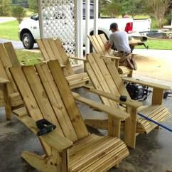 Building An Adirondack Chair S Bent And Bros Child Rocking Remodelaholic Tutorial Build Amazing Diy Pergola
