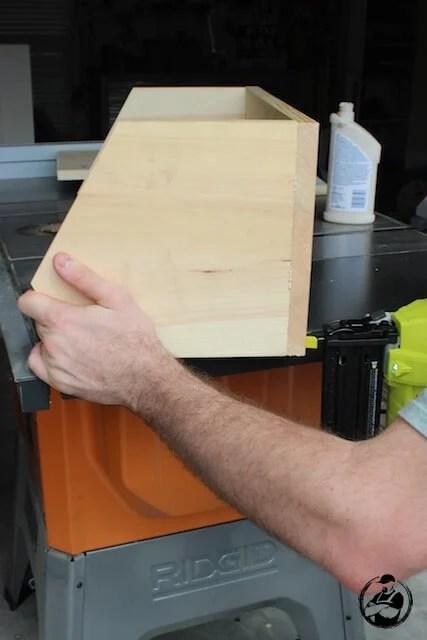 DIY Root Vegetable Storage Bin - Step 6