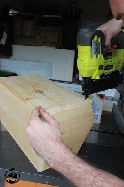 DIY Root Vegetable Storage Bin - Step 7
