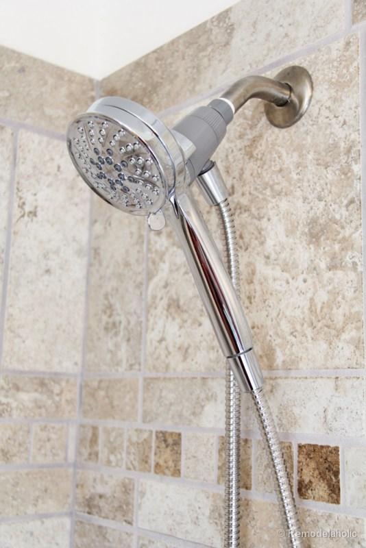 HOw to install a new showerhead Moen Magnetix-3611