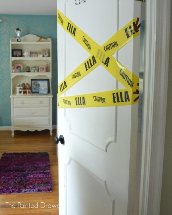 How to Create a Paneled Door by The Painted Drawer featured on @Remodelaholic