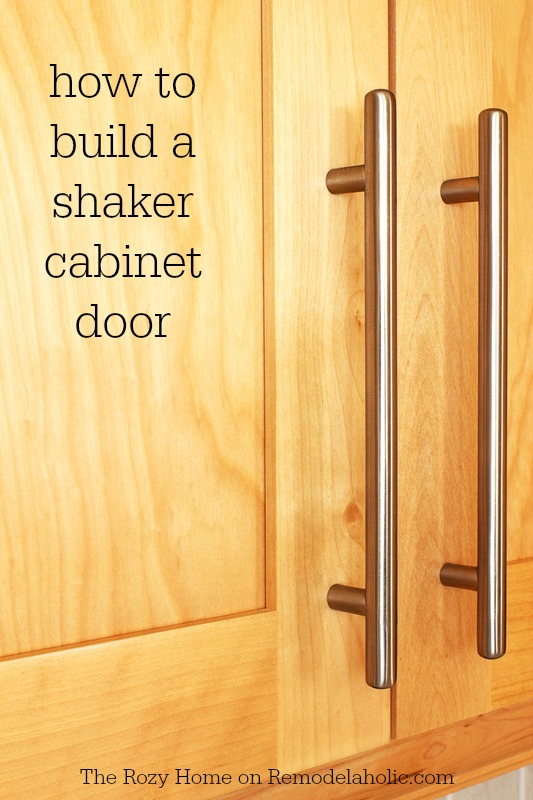 Fantastic Remodelaholic How To Make A Shaker Cabinet Door Home Interior And Landscaping Ologienasavecom