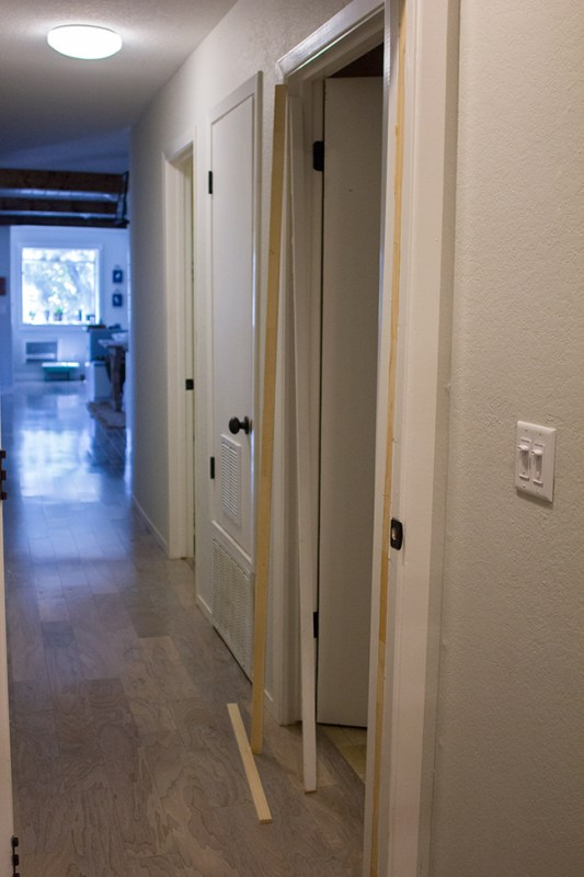 Redesign an Old Door by Jenna Sue Design Co featured on @Remodelaholic