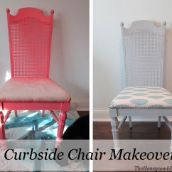Best Chair To Use After Back Surgery 2 Stackable Toddler Chairs Remodelaholic Cane Dining Makeover