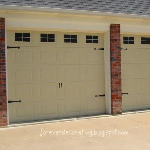 Building My Own Garage Door: 8 DIY Garage Door Updates