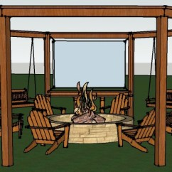 Baby Swing Chair Youtube Hanging Lift Remodelaholic | Tutorial: Build An Amazing Diy Pergola And Firepit With Swings