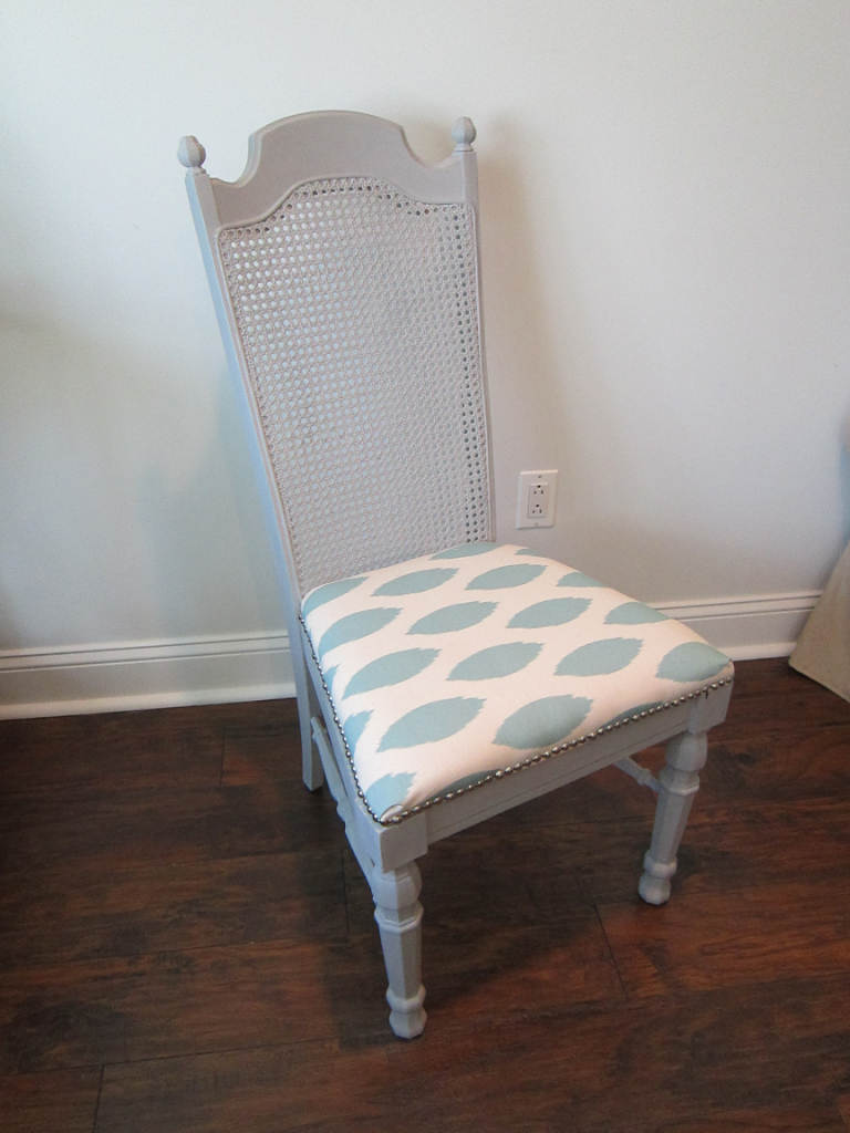 where to get chairs reupholstered low lawn remodelaholic | cane back dining chair makeover