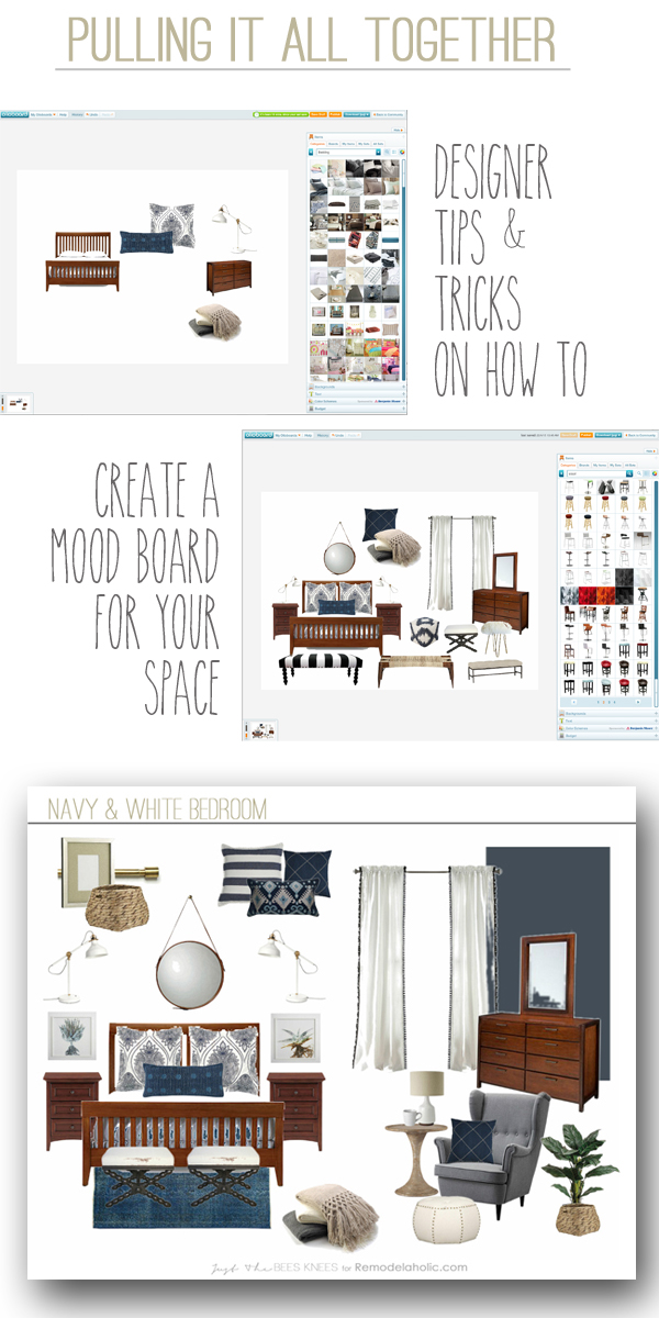 Remodelaholic | How To Create a Mood Board for Your Space