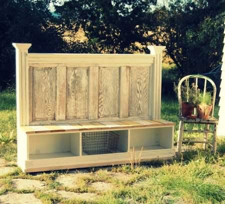 outdoor-bench-twig-decor