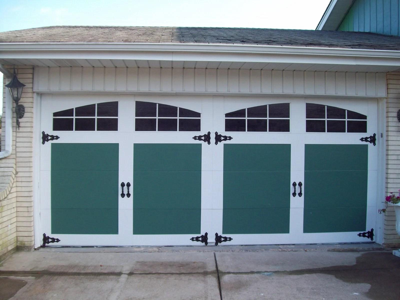 Bon Painted And Raised Panel Garage Door Facelift   General Splendour
