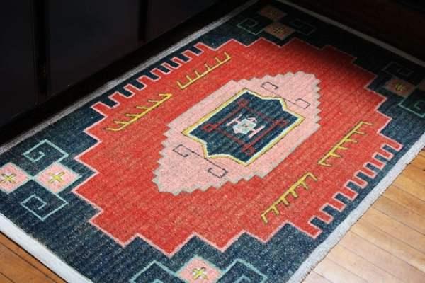 painted persian rug