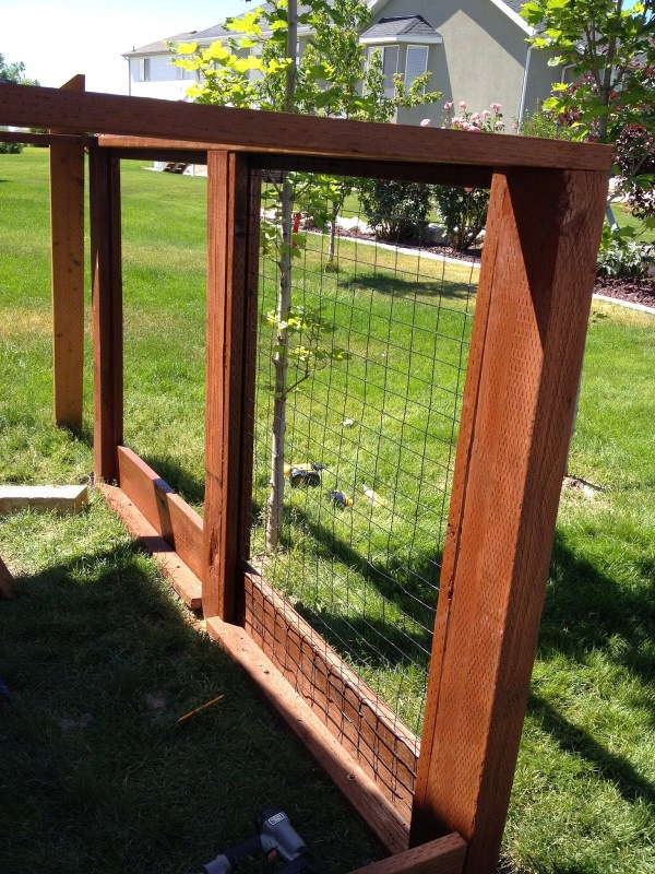 Building a Chicken Run with Storage Shed by Chalkboardblue featured on Remodelaholic