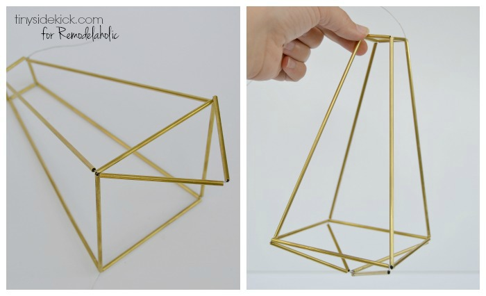 How to make a himmeli pendant light
