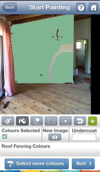 Paint My Place for iPhone
