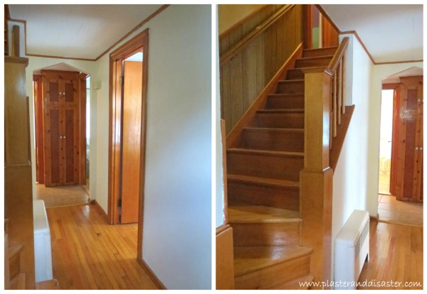 Stairway Transformation by Plaster and Disaster featured on @Remodelaholic