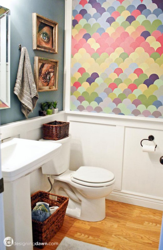 Rainbow Playroom Inspiration | Found on Designing Dawn